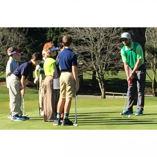 Puetz Golf Junior Private Trackman Lesson Series of 8 (Ages 6-16)