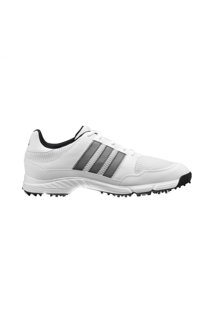 Adidas Tech Response Golf Shoes - White/Silver