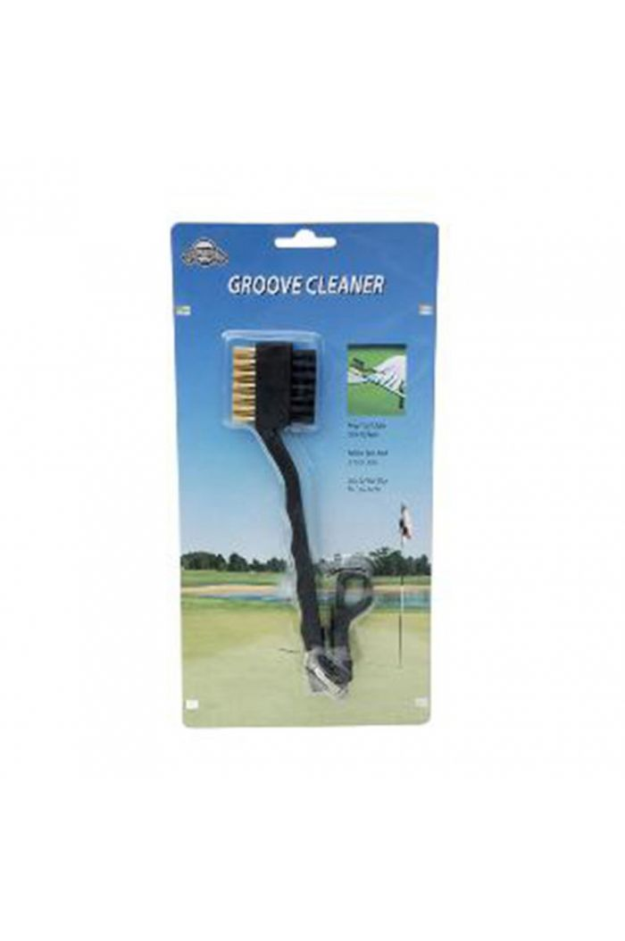 J&M Golf Dual Brush w/ Retractable Cord
