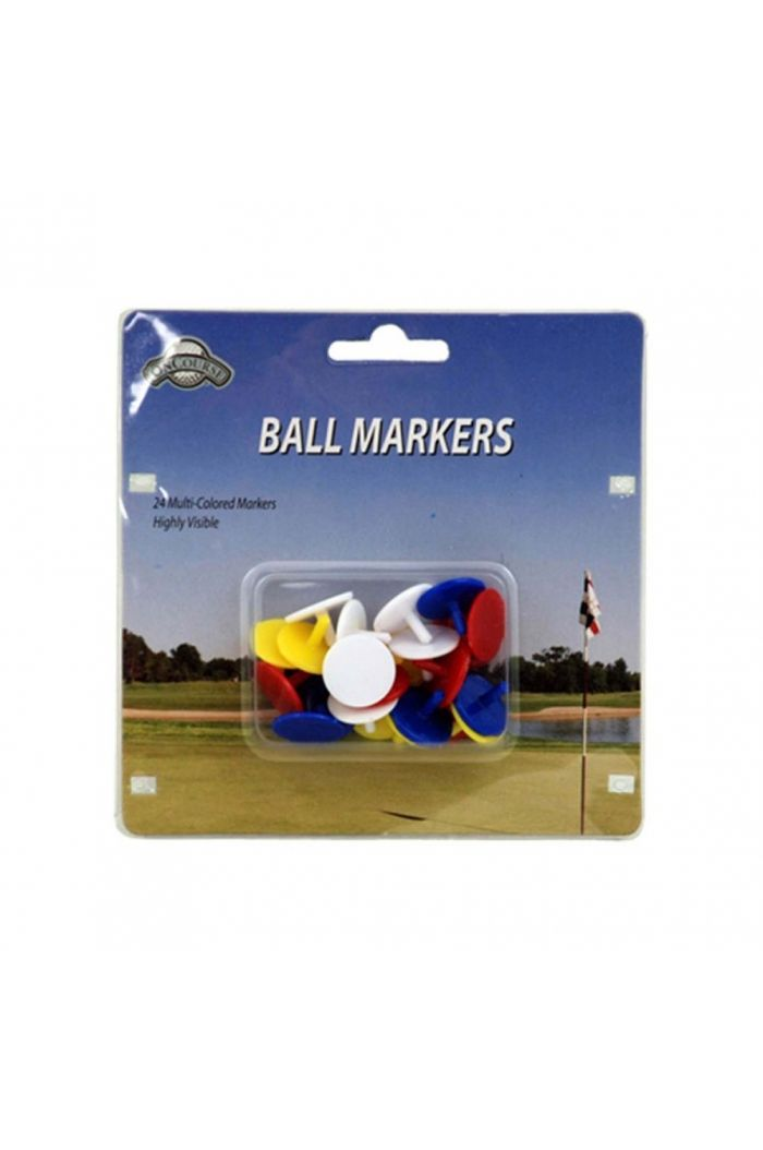J & M Golf Plastic Ball Markers