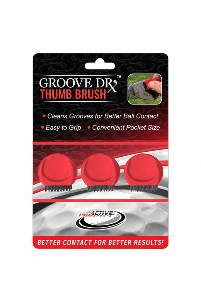 ProActive Sports Groove Dr Thumb Brush 3 Pack